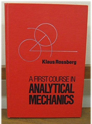 9780471861744: First Course in Analytical Mechanics