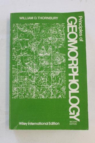 9780471861904: Principles of Geomorphology