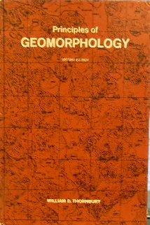 Principles of geomorphology: William D Thornbury