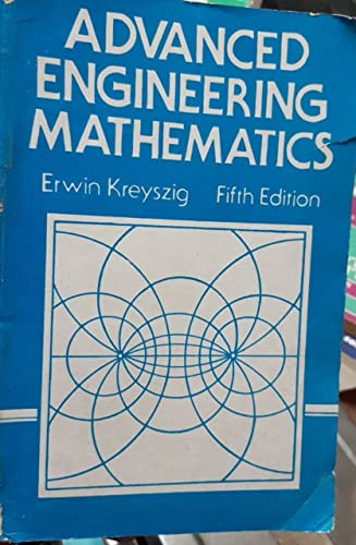 9780471862512: Advanced Engineering Mathematics, Fifth Edition
