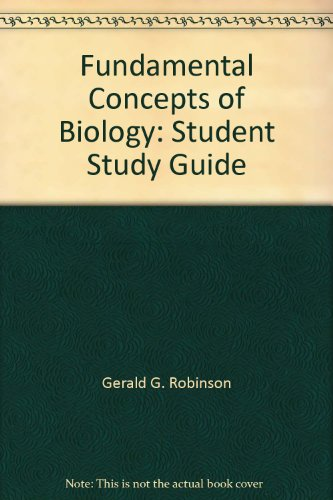 9780471862710: Fundamental Concepts of Biology: Student Study Guide