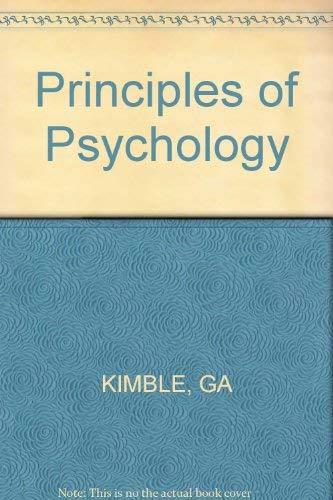 9780471862840: Principles of Psychology