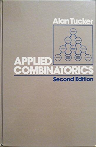 9780471863717: Applied Combinatorics