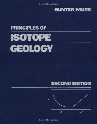 9780471864127: Principles of Isotope Geology, 2nd Edition