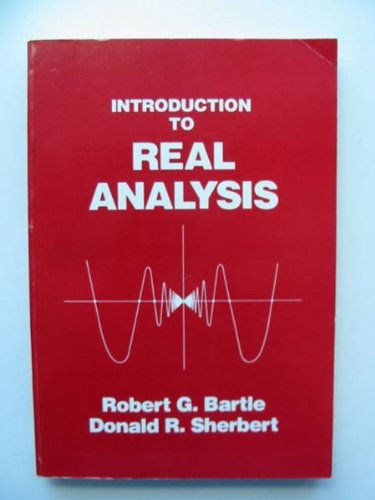 9780471864813: Introduction to Real Analysis