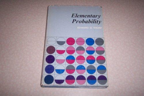 9780471865551: Elementary Probability