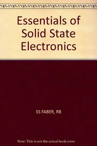 9780471865759: Essentials of Solid State Electronics
