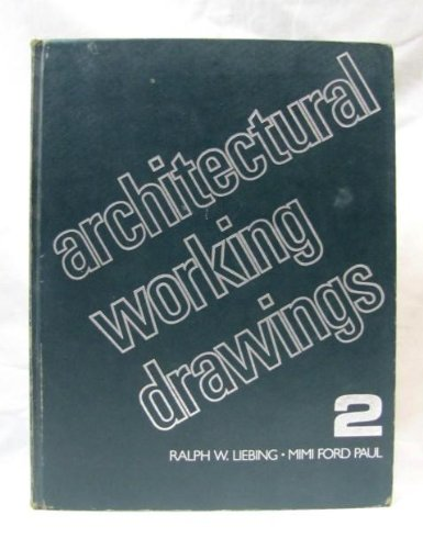 9780471866497: Architectural Working Drawings (A Wiley inter-science publication)