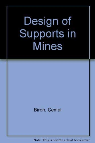 9780471867265: Design of Supports in Mines