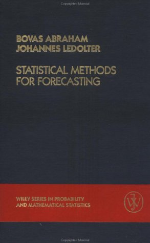9780471867647: Statistical Methods for Forecasting (Wiley Series in Probability and Statistics)
