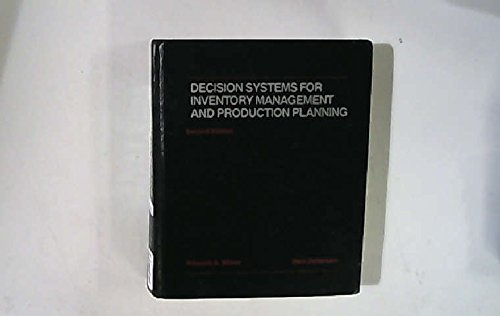 9780471867821: Decision Systems for Inventory Management and Production Planning (Wiley Series in Production/Operations Management)