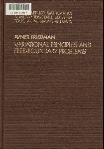 variational principles and free boundary problems