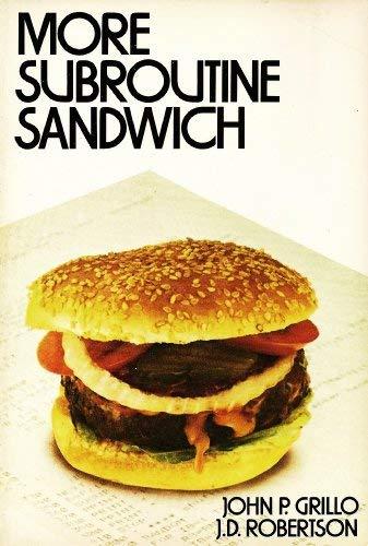 More Subroutine Sandwich: John P. Grillo