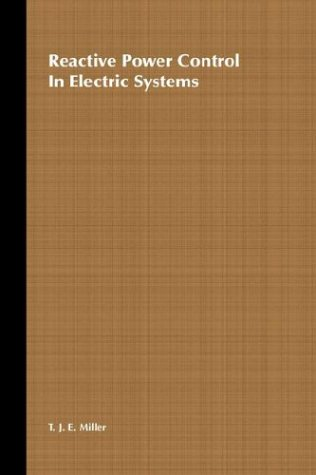 9780471869337: Reactive Power Control in Electric Systems