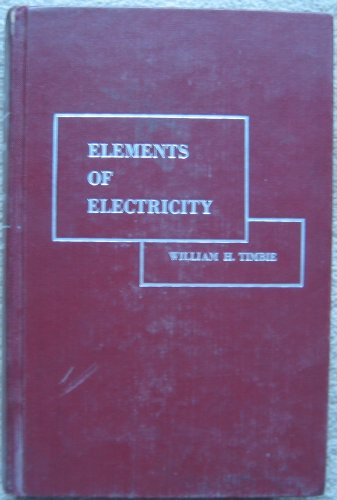 9780471869559: Elements of Electricity