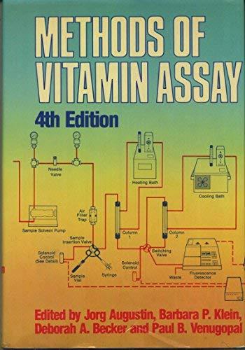 Methods of Vitamin Assay: Augustin, Jorg, etc.