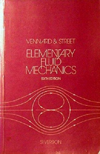 9780471869702: Elementary Fluid Mechanics