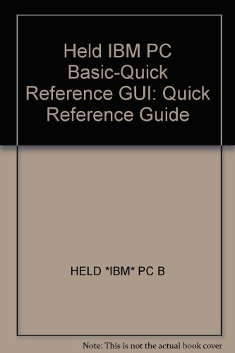 9780471870425: IBM PC Basic Quick Reference Guide
