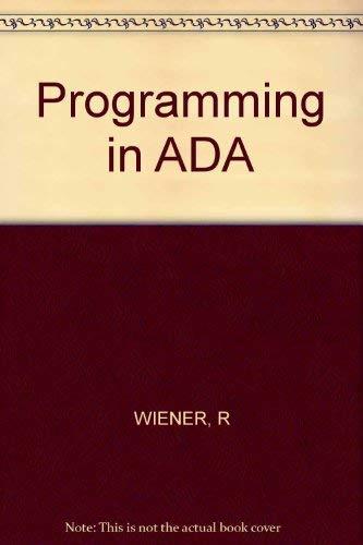 9780471870890: Programming in ADA