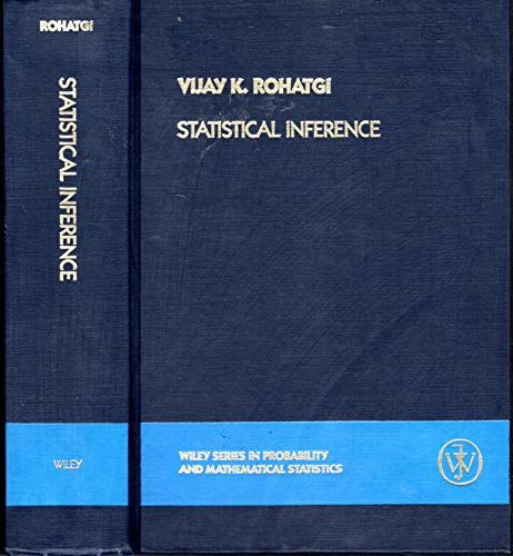9780471871262: Statistical Inference (Probability & Mathematical Statistics)