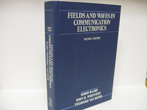 9780471871309: Fields and Waves in Communication Electronics