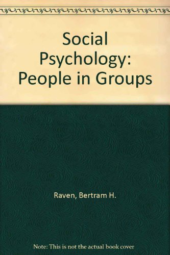 9780471871477: Social Psychology: People in Groups
