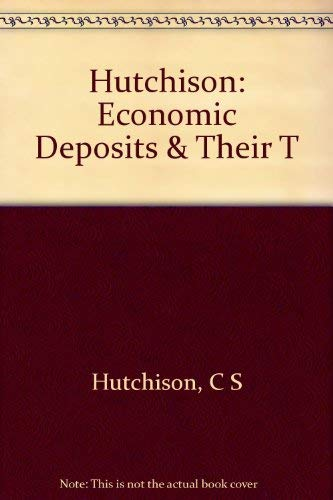 9780471872818: Economic Deposits and Their Tectonic Setting