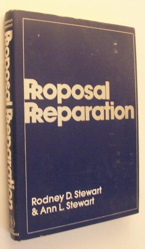 9780471872887: Proposal Preparation (Wiley-Interscience Publication)