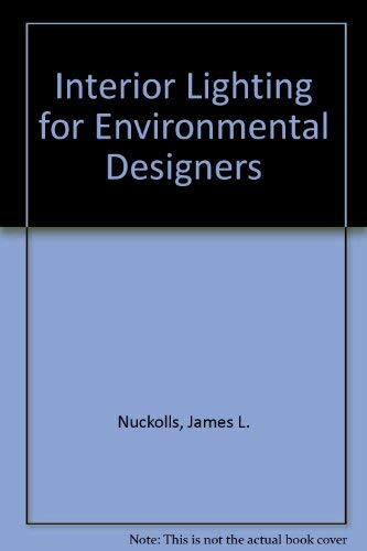 9780471873815: Interior Lighting for Environmental Designers
