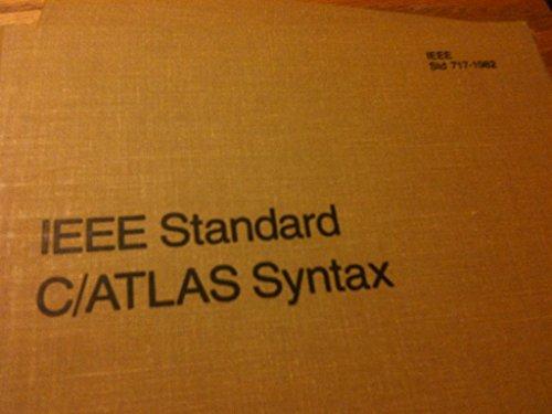 IEEE Standard C/ATLAS* Syntax.: Konomos, G. And