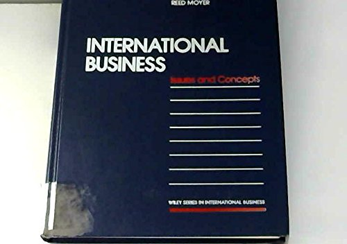 International Business: Issues and Concepts