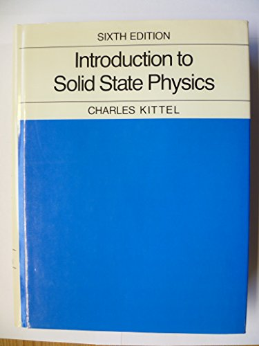 Kittel Solid State Physics Solution