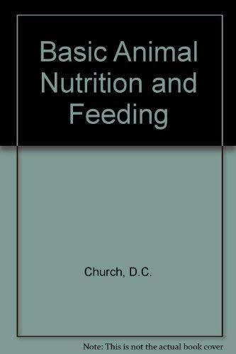 9780471875147: Basic Animal Nutrition and Feeding