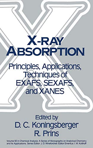 9780471875475: X-Ray Absorption: Principles, Applications, Techniques of EXAFS, SEXAFS and XANES