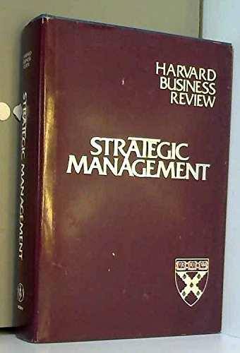 9780471875963: Strategic Management