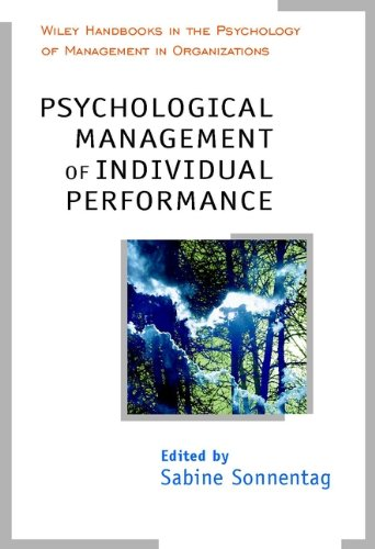 9780471877264: Psychological Management of Individual Performance A Handbook in the Psychology of Management in Organizations