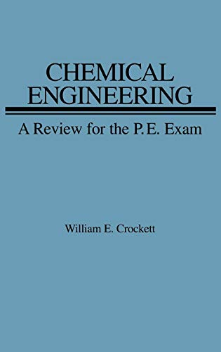9780471878742: Chemical Engineering Review for PE Exam