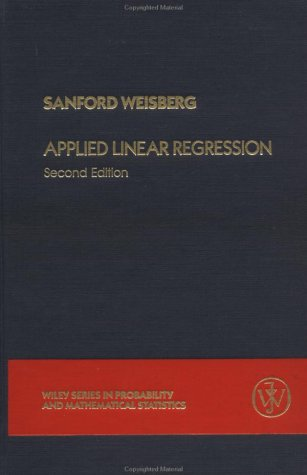 9780471879572: Applied Linear Regression (Probability & Mathematical Statistics)