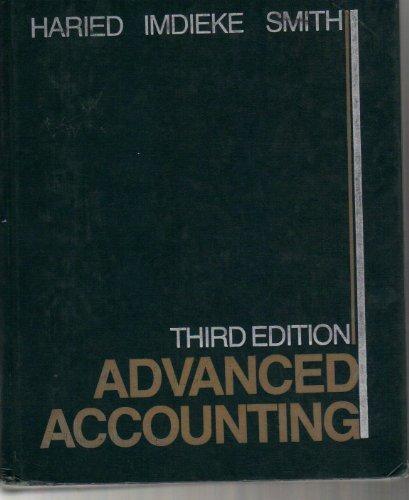 9780471880097: Advanced Accounting