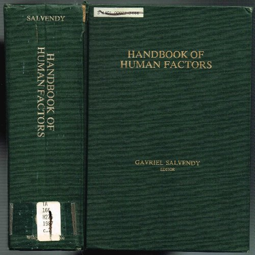9780471880158: Handbook of Human Factors
