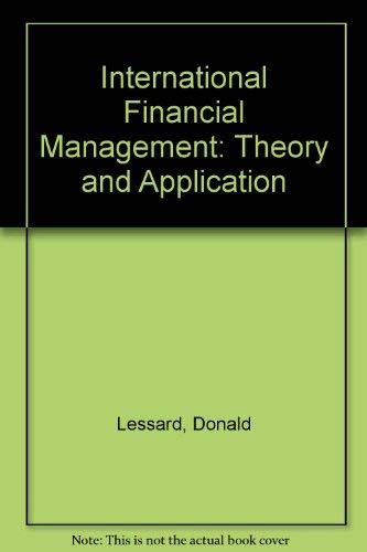 9780471880264: International Financial Management: Theory and Application