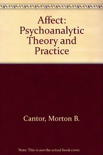 9780471880714: Affect: Psychoanalytic Theory and Practice