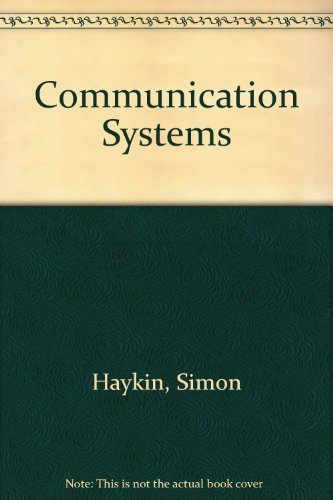 9780471880882: Communication Systems