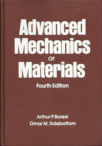 9780471883920: Advanced Mechanics of Materials