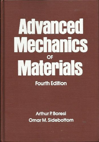 9780471883920: Advanced Mechanics of Materials