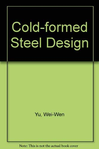 9780471884842: Cold-Formed Steel Structures