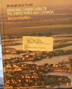 9780471884903: Regional Landscapes of the United States and Canada