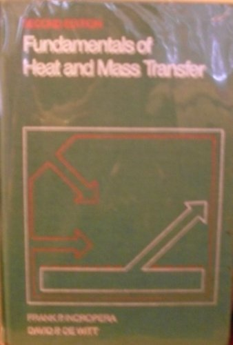 9780471885504: Fundamentals of Heat and Mass Transfer