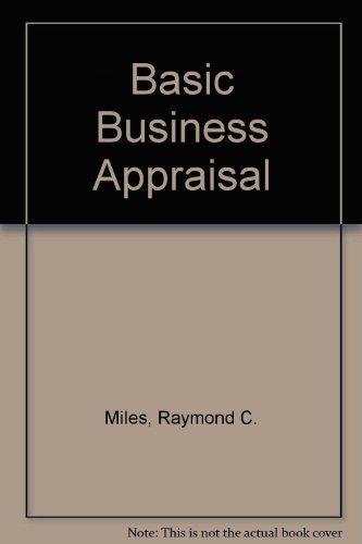 9780471885559: Basic Business Appraisal