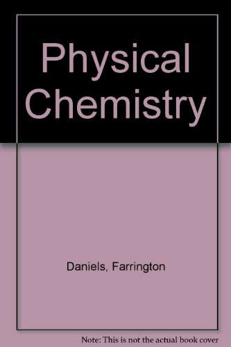 9780471886860: Alberty Physical Chemistry 6ed
